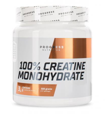 Progress Nutrition Creatine Monohydrate, 500 грамм
