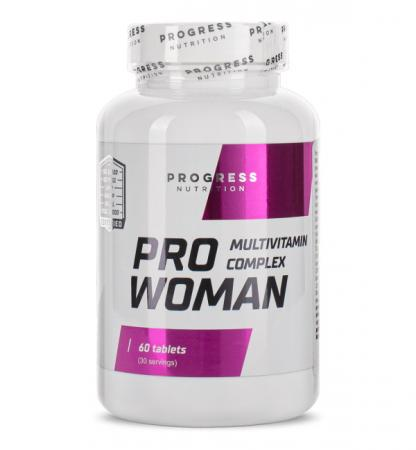 Progress Nutrition Pro Woman, 60 таблеток
