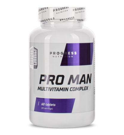 Progress Nutrition Pro Man, 60 таблеток