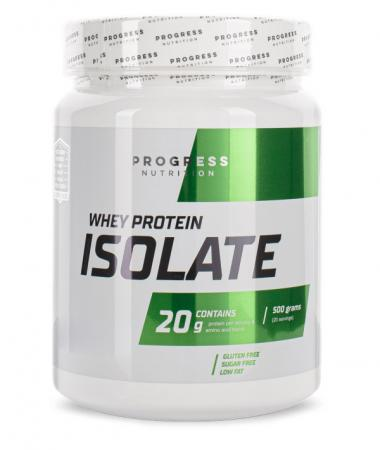 Progress Nutrition Whey Protein Isolate, 500 грамм