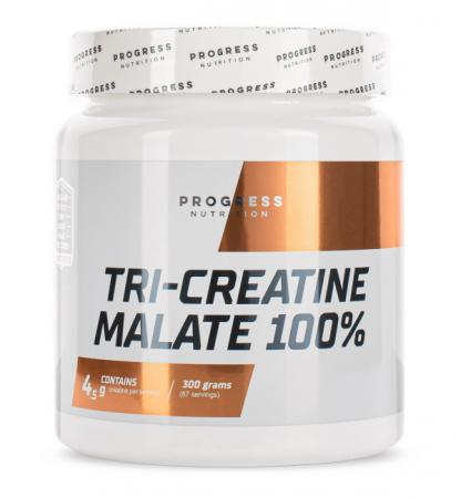 Progress Nutrition Tri-Creatine Malate, 300 грамм