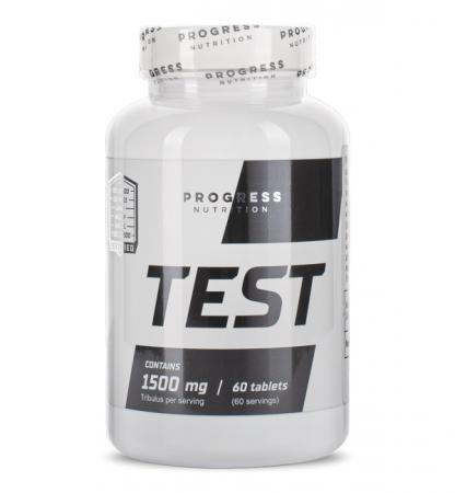 Progress Nutrition Test 1500 mg, 60 таблеток
