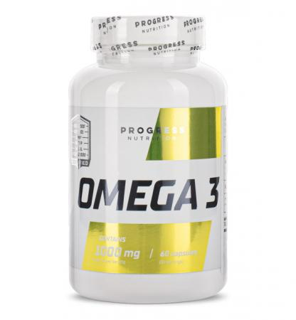 Progress Nutrition Omega 3, 60 капсул