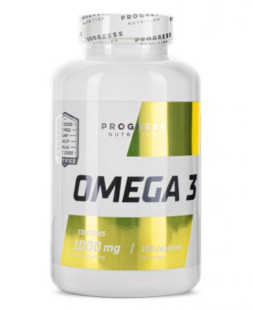 Progress Nutrition Omega 3, 180 капсул