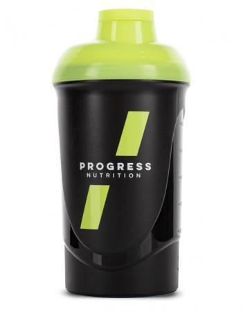 Progress Nutrition 600 мл, черный с желтым
