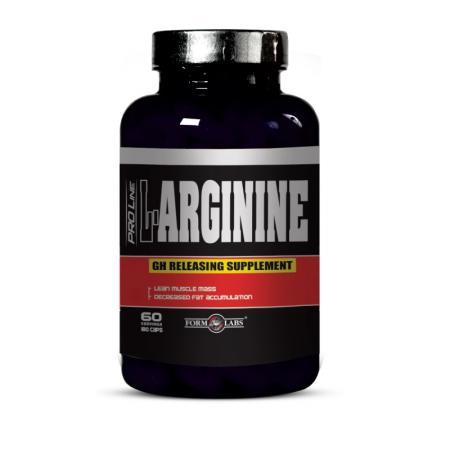 Form Labs L-Arginine, 180 капсул