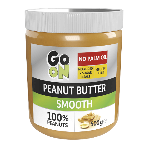 GoOn Peanut butter, 500 грамм (Smooth) - стекло