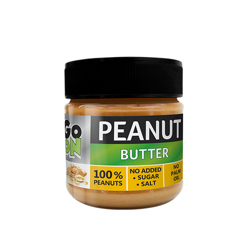 GoOn Peanut butter, 180 грамм (Smooth) - стекло