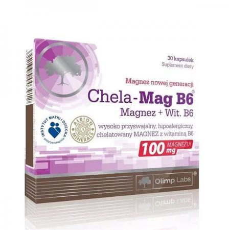 Olimp Chela-Mag B6, 30 капсул