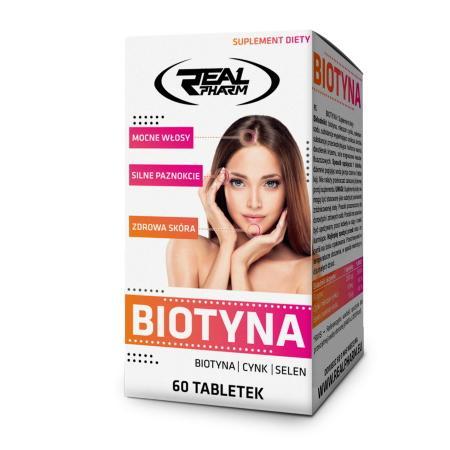 Real Pharm Biotin, 60 таблеток