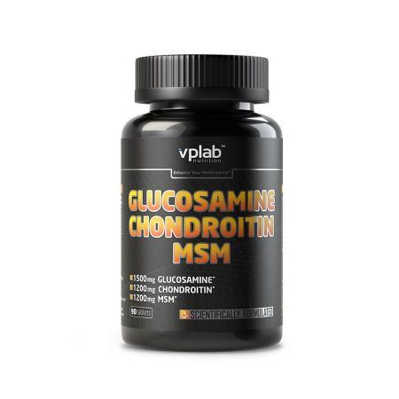 VPLab Glucosamine Chondroitin MSM, 90 капсул