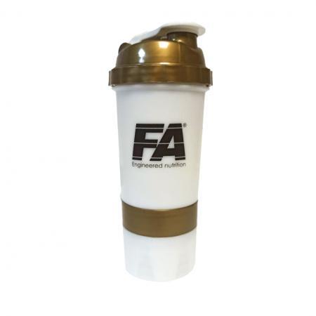 Fitness Authority + 2 контейнера, 500 мл - черно золотой