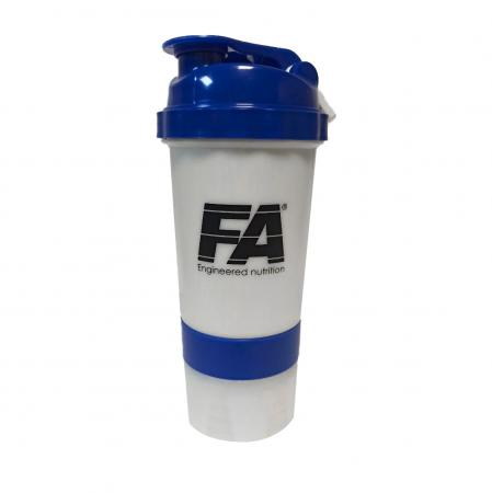Fitness Authority + 2 контейнера, 500 мл - бело синий
