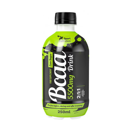 Sport Definition BCAA 5500 mg Drink, 250 мл