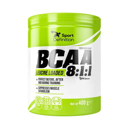 Sport Definition BCAA Leucine Loaded 8:1:1, 400 грамм