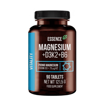 Sport Definition Essence Magnesium+D3K2+B6, 90 таблеток