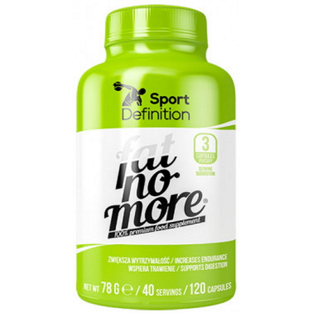 Sport Definition Fat No More, 120 капсул