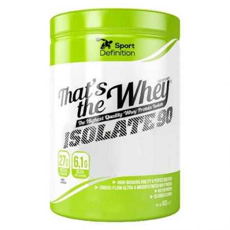 Sport Definition That's The Whey Isolate 90, 600 грамм