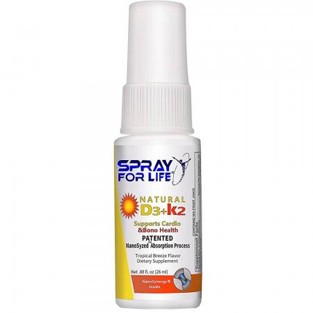 Spray For Life Natural D3 + K2, 26 мл