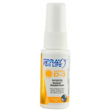 Spray For Life Natural D3, 26 мл
