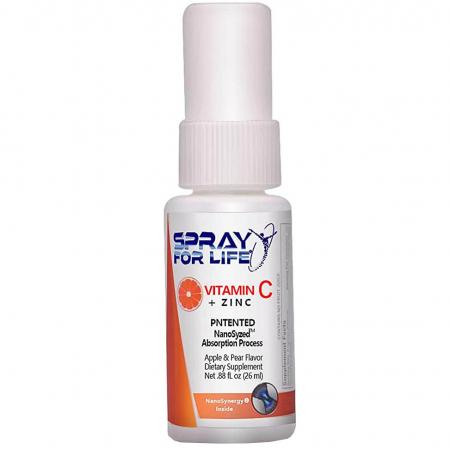Spray For Life Vitamin C + Zink, 26 мл