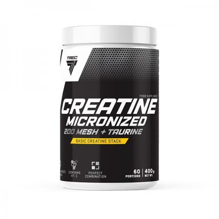 Trec Nutrition Creatine Micronized 200 Mesh + Taurine, 400 грам