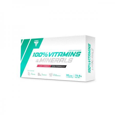 Trec Nutrition 100% Vitamins & Minerals, 60 капсул