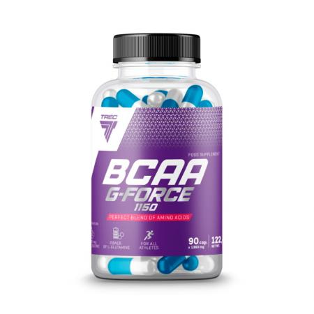 Trec Nutrition BCAA G-Force 1150, 90 капсул