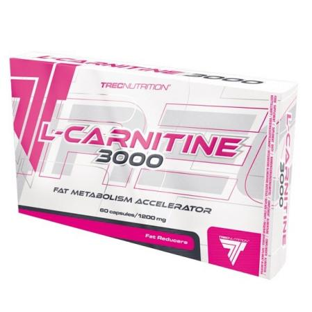 Trec Nutrition L-Carnitine 3000, 60 капсул