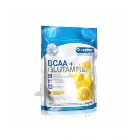 Quamtrax BCAA + Glutamine, 500 грамм