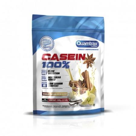 Quamtrax Casein 100%, 500 грамм