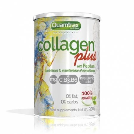 Quamtrax Collagen Plus with Peptan, 350 грамм