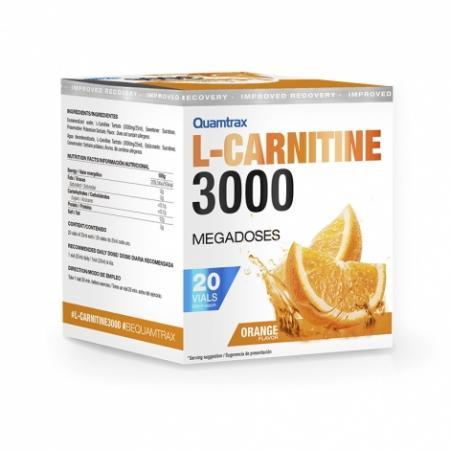 Quamtrax L-Carnitine 3000, 20 ампул/уп