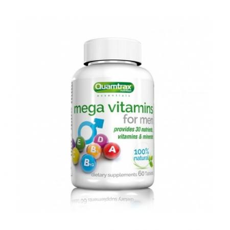 Quamtrax Mega Vitamins for Men, 60 таблеток