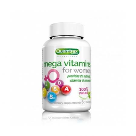 Quamtrax Mega Vitamins for Women, 60 таблеток