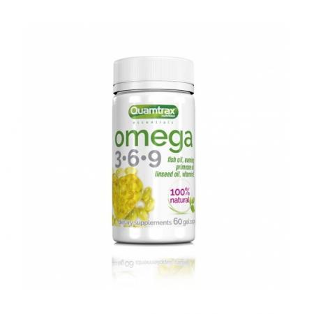 Quamtrax Omega 3-6-9, 60 капсул