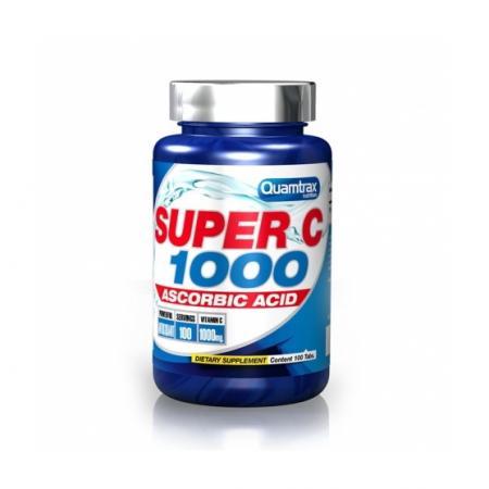 Quamtrax Super C 1000, 60 капсул