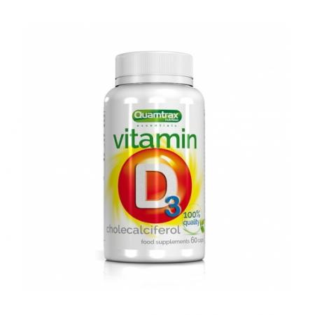 Quamtrax Vitamin D3, 60 капсул