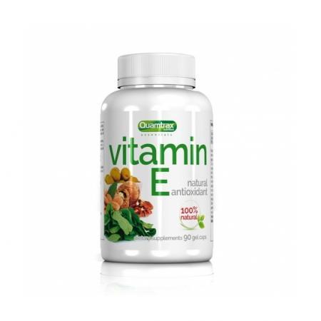 Quamtrax Vitamin E, 60 капсул