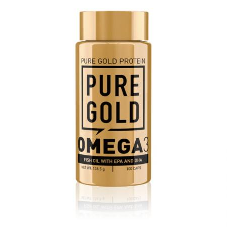 Pure Gold Protein Omega 3, 100 капсул