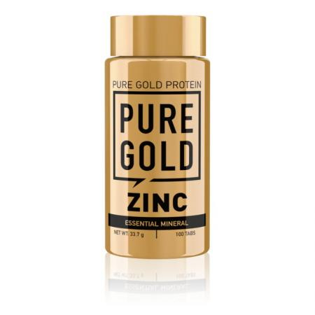 Pure Gold Protein Zinc, 100 капсул