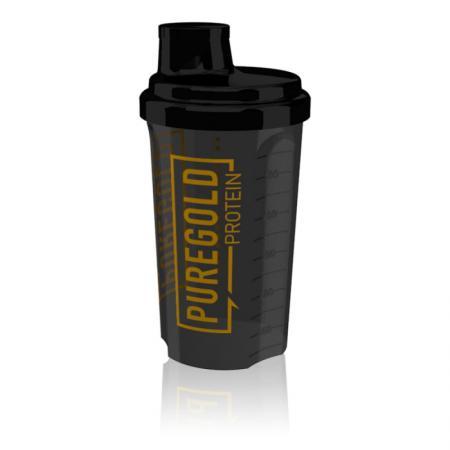 Pure Gold Protein Shaker, 700 мл - черный