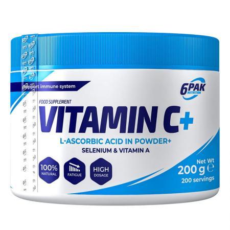 6PAK Nutrition Vitamin C Plus, 200 грамм