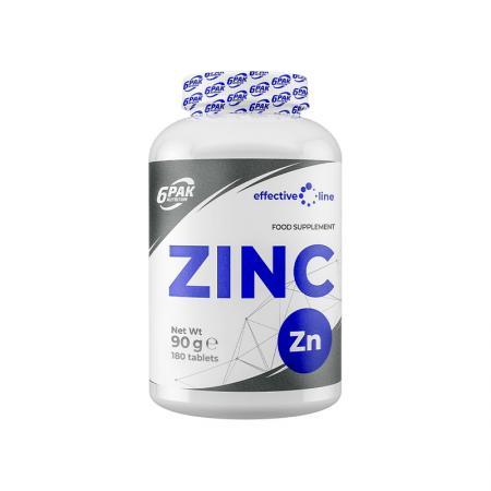 6PAK Nutrition Zinc, 180 таблеток - Effective Line