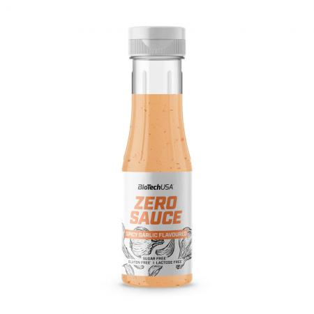BioTech Zero Sauce 350 мл, острый чеснок