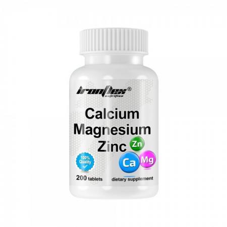 IronFlex Calcium Magnesium Zinc, 200 таблеток