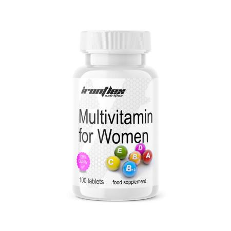 IronFlex Multivitamin for Women, 100 таблеток