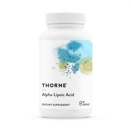 Thorne Research ALA 300 mg, 60 капсул