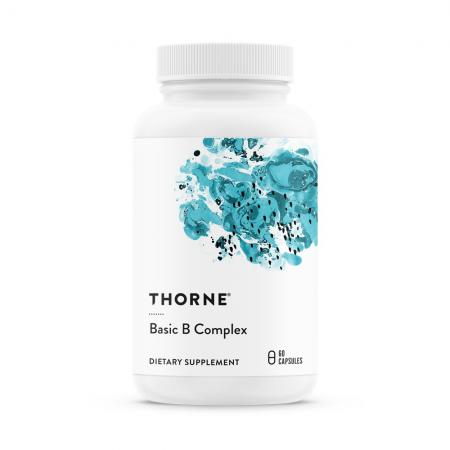Thorne Research Basic B Complex, 60 капсул