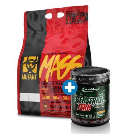 Mutant Mass 6.8 кг + IronMaxx Berserker Zero 250 грамм, SALE